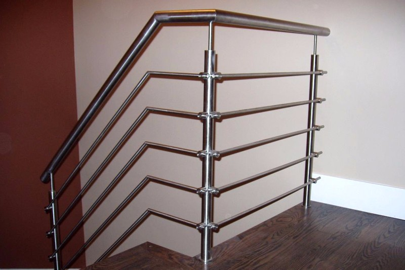 Stainless Steel Rod Railing Iron Grill Design For
