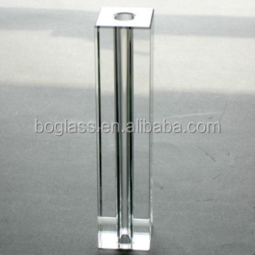 Cylindrical Crystal Glass For Lighting in good sale