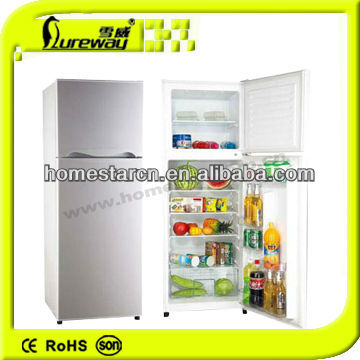 260L Double Door A Class Refrigerator (Top-mounted) with CE ROHS --- Emily