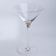 Hot selling lead-free crystal hand blown round cocktail glass