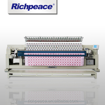 Richpeace Computerized Embroidery and Quilting Machine