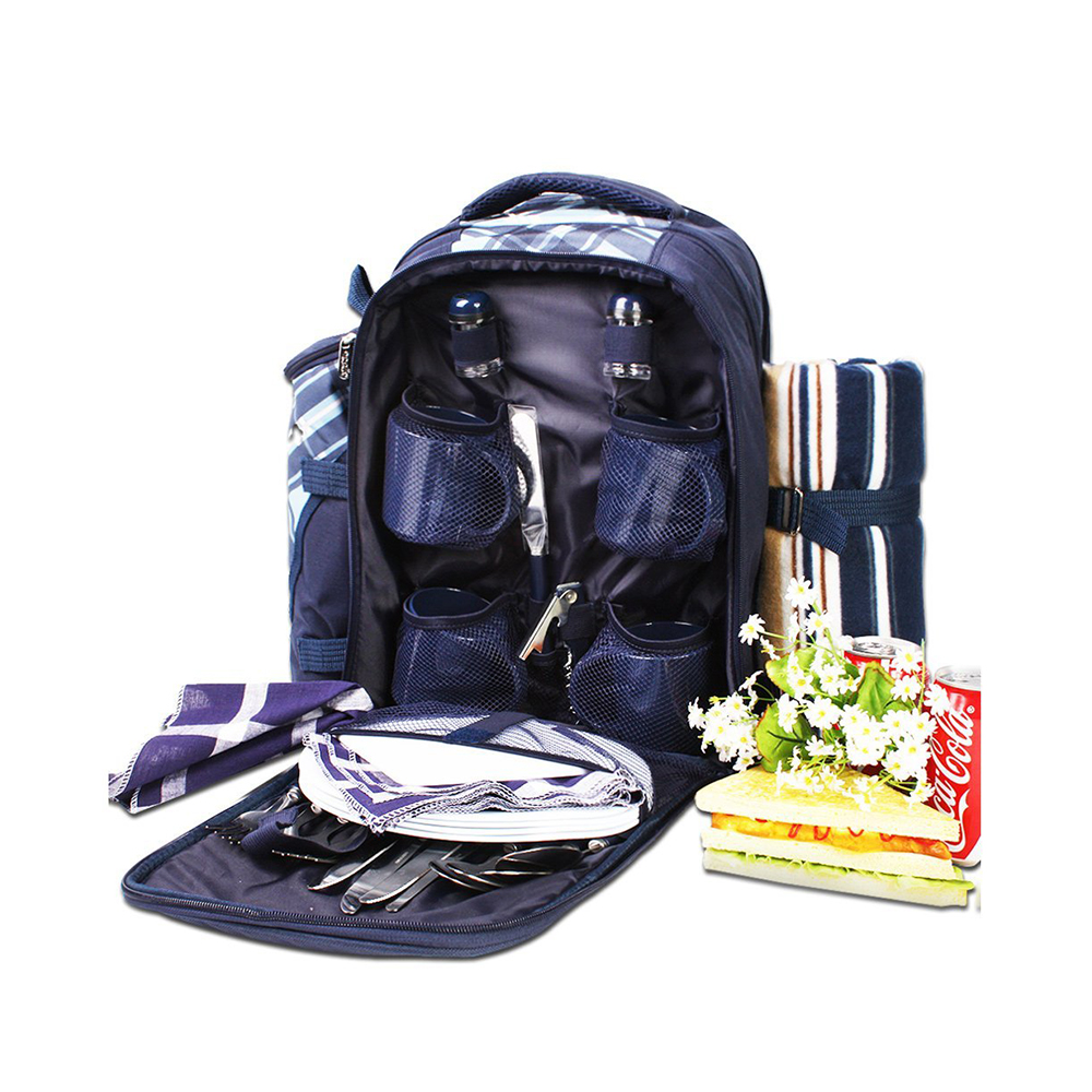 Convenience And Comfortable Travel 4 Person cooler picnic bag