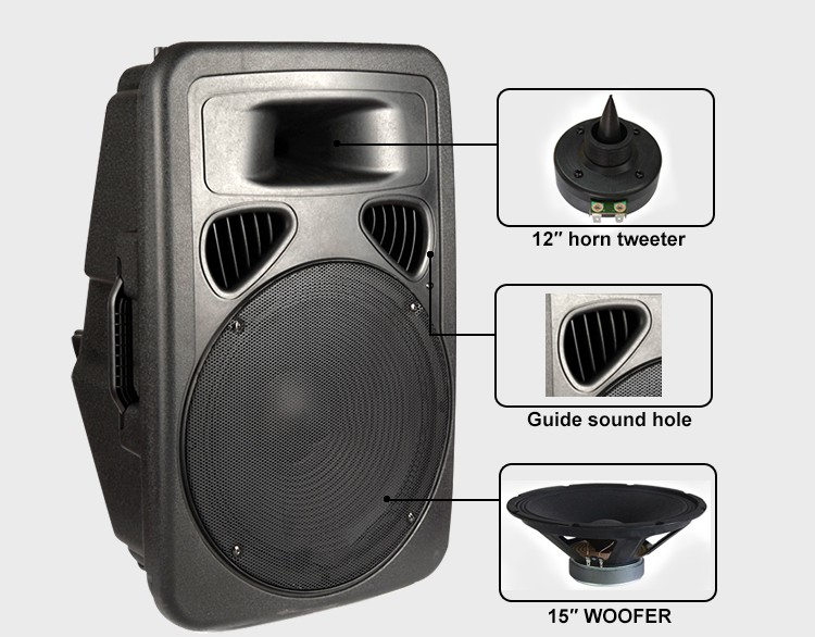 Outdoor Stage Trolley Loudspeaker Powered Rechargeable Sound ...