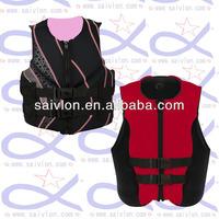 women neoprene vest, neoprene slimming vest, neoprene life vest
