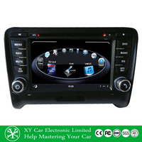 7Inch skoda octavia double din car radio dvd player with bluetooth/USB/SD/TV/GPS for Audi TT XY-for Audi TT