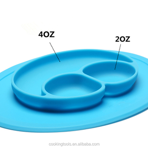 FT-009PM Non-slip Silicone Baby Table Mat Silicone Child Plate Mat