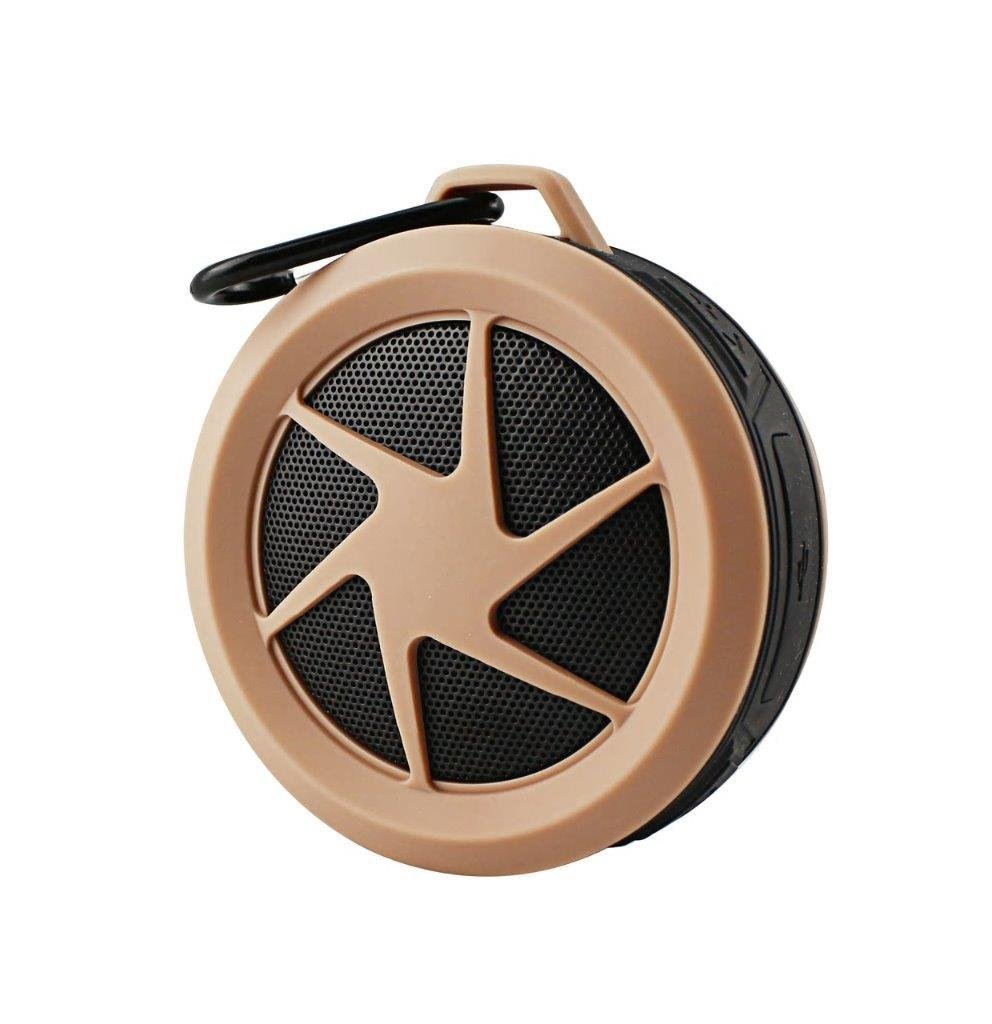 Mini Water Proof Wireless Bluetooth Speaker for LG V30/ V30+/ G6/ G6+/ G5/ G4/ G3/ G2/ V20/ V10/ Stylo 3/ K20V/ X Charge/ Q6/ Aristo/ Q8/ Stylo 3 Plus (Rose Gold)