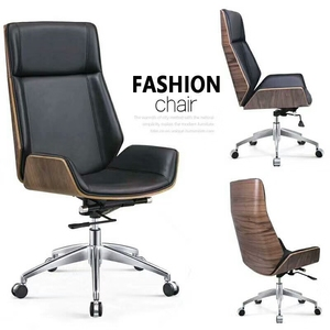 Modern bent wood office room chair bentwood executive chair for sale