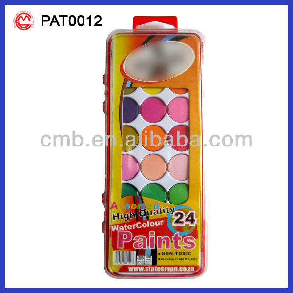 21PC WATER COLOR CAKE PAINT