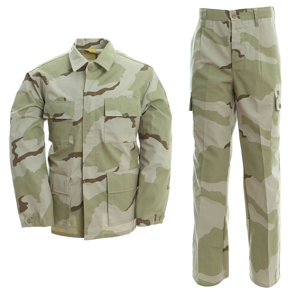 massa uniformi militari deserto 3 colori mimetica bdu ... - photo#17