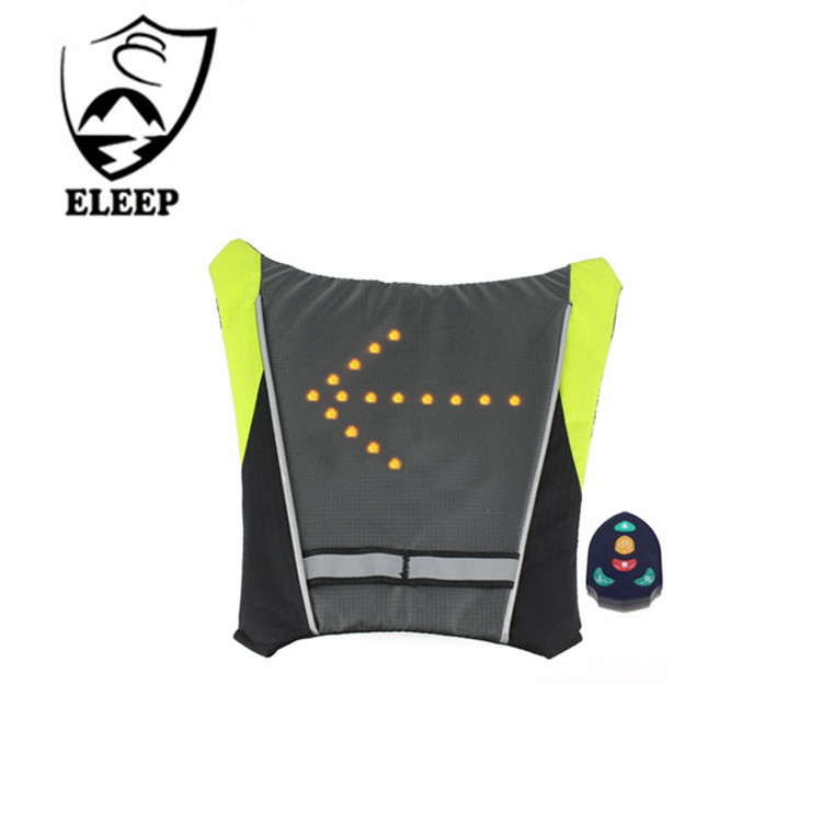 Led Wireless Cycling Vest Safety Led Turn Signal Light Bike Bag Safety Turn Signal Light Vest Bicycle Reflective Warning Vests Terrific Value Back To Search Resultssports & Entertainment