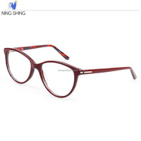 Wholesale Clear Handmade Custom Fashion Leg Optical Frame With Uv400