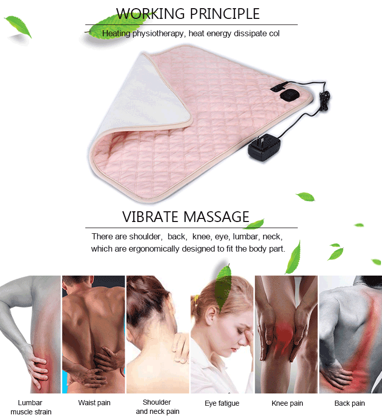 60*50 Safe Heated Bed Thermal 3 Settings Electric Custom Heating Pad Electric Therapy Heating Pad
