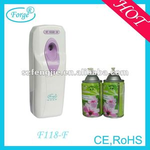 aerosol spray electric perfume dispenser for toilet