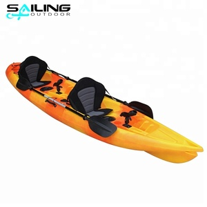 2018 New OEM Wholesale Fishing Canoe 3 Person Sit On Top Kayak Fishing