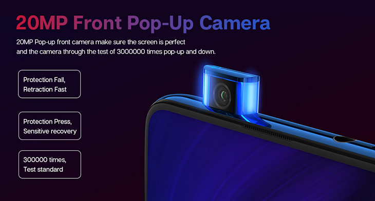 Global Version Xiaomi Mi 9T Redmi K20 6GB 64GB Snapdragon 730 48MP Rear Camera Pop-up Front Camera Rear Camera Mi 9T