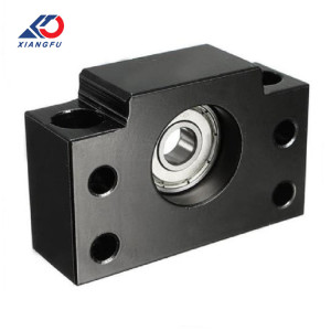Xiangfu CNC Milling Parts Custom End Cap Mount block solid Aluminum blocks