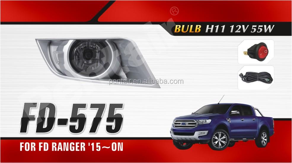 For Ford Ranger 2017 2016 Oe Style 4x4 Pickup T7 Fog Light Pentair Waterproof
