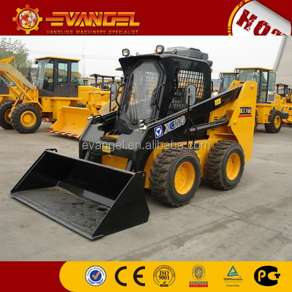 XCMG mini loader XT740 Mini Skid steer loader for sale