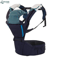 Mom Outdoor Easy Carrying Baby Wrap Carrier With Hip Seat Front And Back