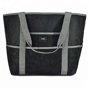 addb6d62a480 Wholesale Foldable Tote Extra large Mesh Beach Bag
