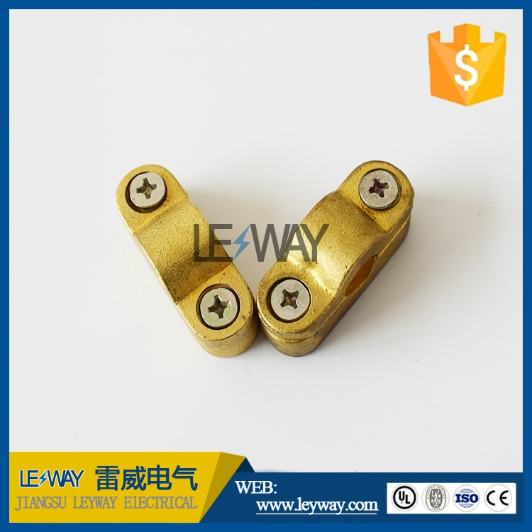 copper clad steel ground rod clamp for lightning system