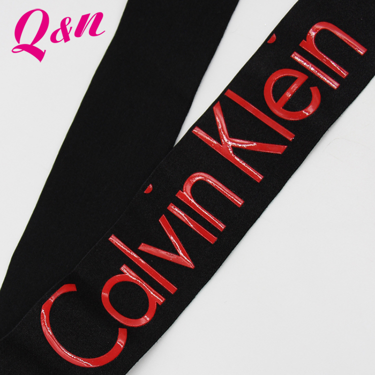 New designs polyester fancy shoulder strap bra elastic band strap for underwear