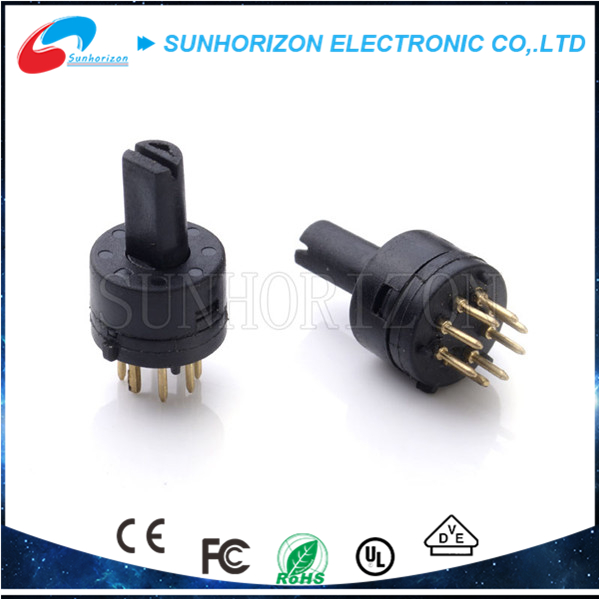 Mini changeover switch 8 pole double throw switch for controlling speed light