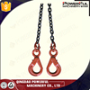 S6 Two Legs Alloy Steel Rigging Chain Slings for Lifting with hooks