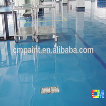 CMFL014 Water based dust-proof chemistry resistance industrial floor paint -paint manufacturer