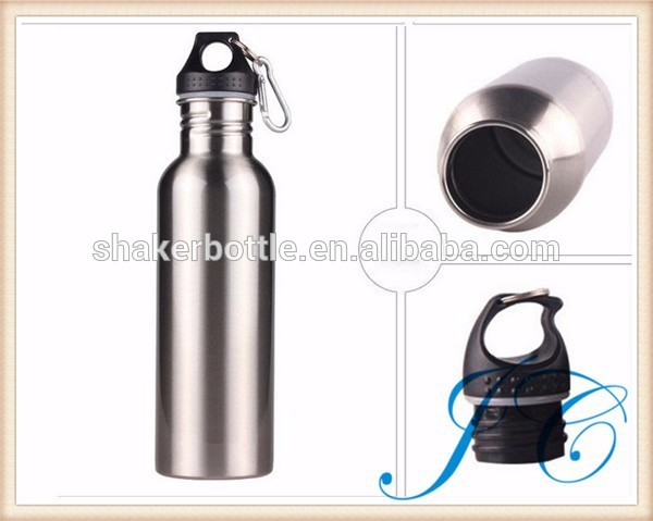 500 ml/600 ml/750 ml outdoor stainless steel sports bottle for cycling