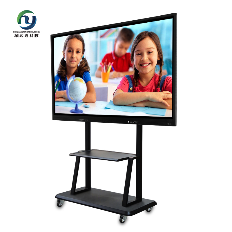32 Inch LED Exhibition Stand Portable Ipad Kiosk , Touch Screen Kiosk