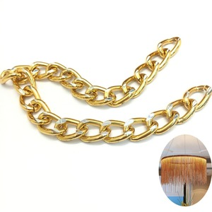 Gold chain for lamp
