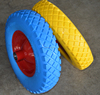 puncture Proof utility heavy duty solid rubber tyre 3.50-4 / 4.0-8