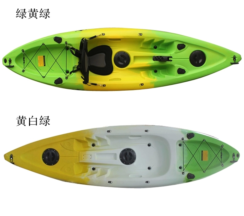 single seat outdoor sport ocean fishing kayak for sale