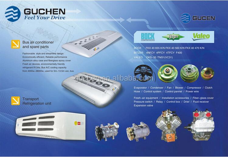 Guchen 12volt 24v electric truck air conditioner van air