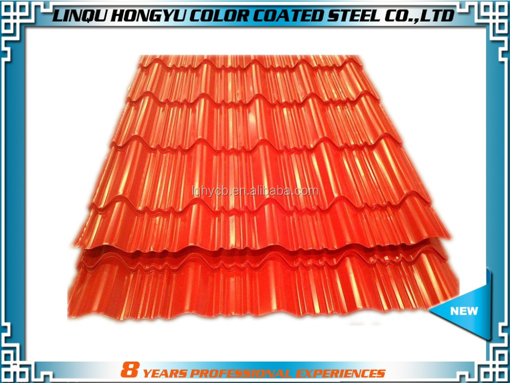 PPGI roofing sheet coils/rolled galvanized/color coated steel coil