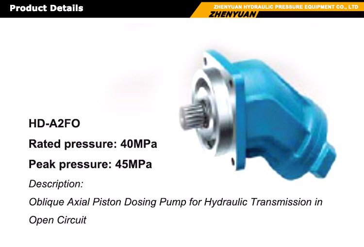 Professional wholesale rexroth hydraulic main pump parts A2FO 5-500