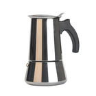 2 4 6 10 cups Stainless steel Italian Coffee Machine, Espresso Coffee Maker, Stove Top coffee maker