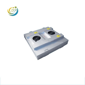 China wholesale Large air volume low noise h14 HEPA filter exhaust fan coil price fan filter unit