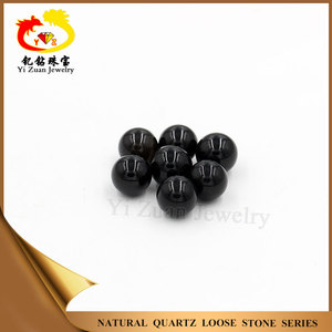 Good polished onyx beads gems black agate stone for jewelry setting