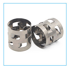 SS304 Metallic super raschig rings for industrial tower packing