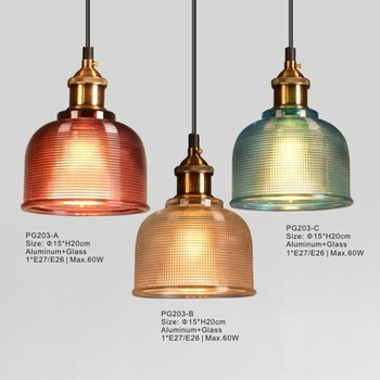 Industrial Pendant Light Project Lamp Wholesale With Glass Lamp ...