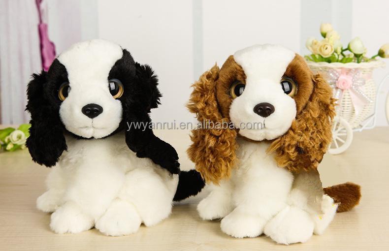 Wholesale Cute Stuffed Animal Dog Plush Soft Dog Toy For Kids Cocker