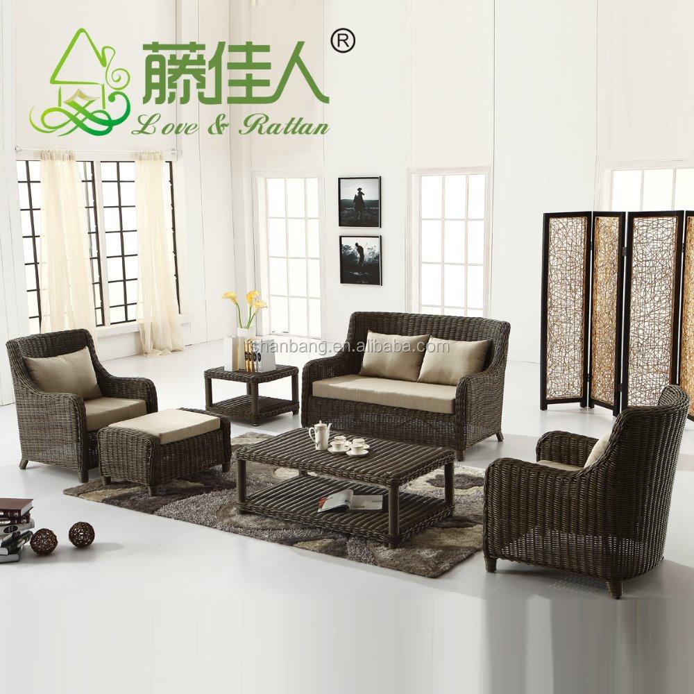 Nuevo Diseño De Lujo Jardín Patio Ratán Mimbre Muebles - Buy Product ...