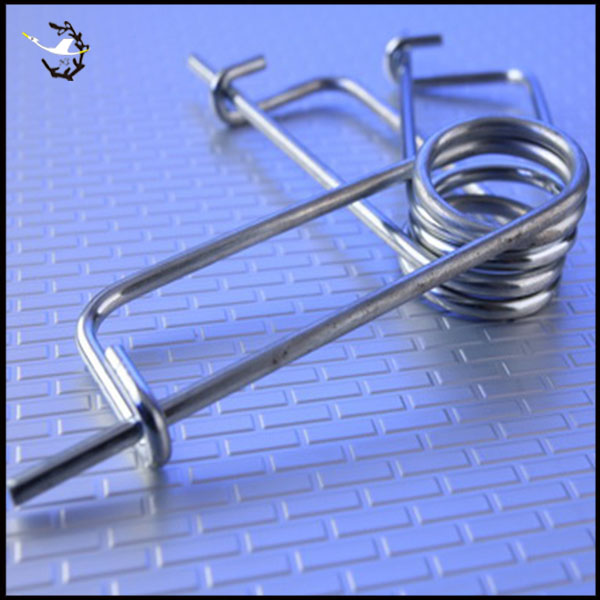 Custom wire form spring clips fasteners