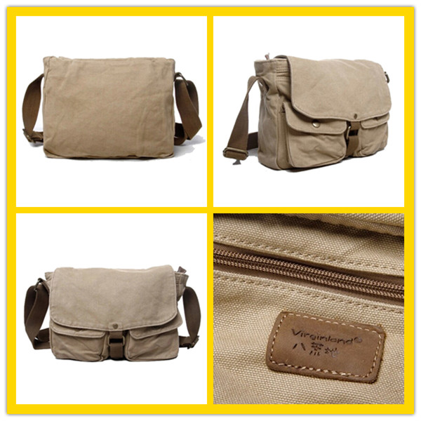 2371 Simple Design Portable Rice White Lightweight Canvas Bag ...