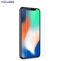For iPhone X Mobile Phone Screen Protector 9h Anti Blue Light Tempered Glass Anti-Fingerprint Coating
