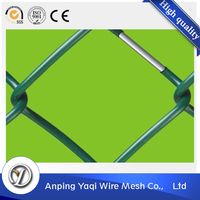 2016 new product vinyl coated chain link fence