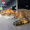 Adventure Park Equipment Captured Dinosaur Statue for Animatronic Maker